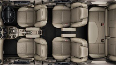 Mahindra Xylo for Rent - Seating view