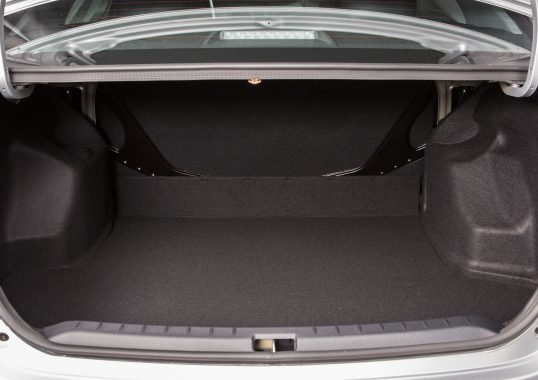 Toyota Etios Rental in Bangalore - Boot space