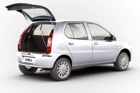 Tata Indica rear view
