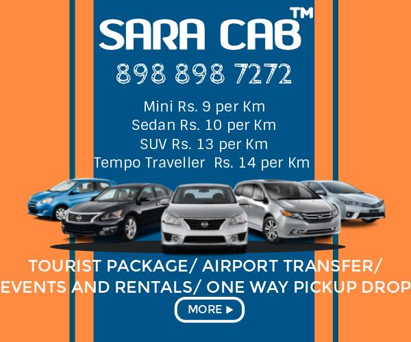 SARA Cab Car rental in Bangalore and Mysore Price lists